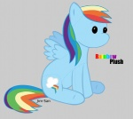 jim-san plushie rainbow_dash toy