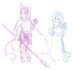 anthro earthsong9405 rarity spear twilight_sparkle weapon