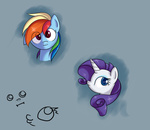 :i livestream miketheuser portrait rainbow_dash rarity
