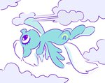 celebi-yoshi cloud fleetfoot flying