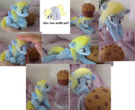 auction derpy_hooves emotional_blackmail epicrainbowcrafts muffin photo plushie toy