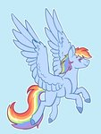 flaming-trash-can highres rainbow_dash