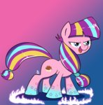 background_ponies feralroku highres rainbow_power