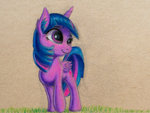 princess_twilight traditional_art twilight_sparkle vaser888