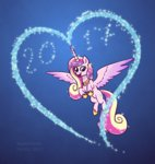 haretrinity heart magic princess_cadance
