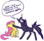 alicorn fluttershy original_character parody ponywise willsun's_oc