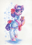 clothes dress highres maytee starlight_glimmer traditional_art