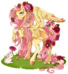cigarscigarettes flowers fluttershy rabbit transparent