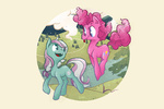 g3 generation_leap minty pinkie_pie topshot wallpaper