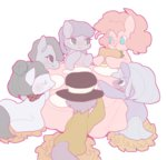 cloudy_quartz igneous_rock limestone_pie marble_pie maud_pie parents pinkie_pie pongtangpong siblings table