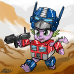 armor crossover gun johnjoseco optimus_prime spike transformers weapon