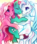 g3 highres hugs minty pinkie_pie_(g3) socks spacecolonie star_catcher