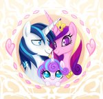 highres mn27 princess_cadance princess_flurry_heart shining_armor