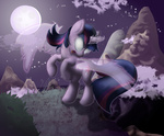 flight_spell magic magic_overload sip twilight_sparkle wings