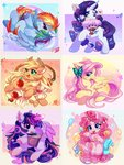 applejack fluttershy highres jficbcpcr6eyujo main_six pinkie_pie princess_twilight rainbow_dash rarity twilight_sparkle