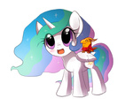 keterok philomena princess_celestia transparent