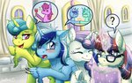 berry_punch book glass inuhoshi-to-darkpen lemon_hearts lyra_heartstrings magic minuette moondancer twinkleshine