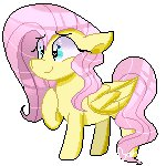 animated euphoriiah fluttershy lowres