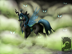 changeling japandragon queen_chrysalis