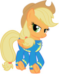 applejack highres maximillianveers transparent vector wonderbolts