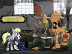 derpy_hooves glasses machine madhotaru mail mailbag steampunk