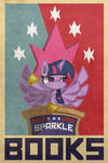 absurdres highres malphazeusatrox poster princess_twilight propaganda text twilight_sparkle