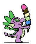 flutterluv ice_cream spike