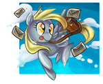 derpy_hooves mail mailbag onidiiana-chan transparent