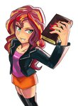 book equestria_girls humanized iojknmiojknm sunset_shimmer