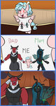 comic cozy_glow highres mew-me queen_chrysalis tirek