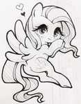 fluttershy rannkiti15 traditional_art