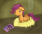 kna sad scootalone scootaloo