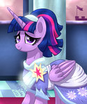 dress highres joakaha princess_twilight twilight_sparkle