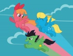 blossom bubbles_(ppg) buttercup inspectornills ponified the_powerpuff_girls