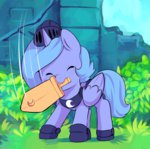animated armor ende26 princess_luna sword weapon woona