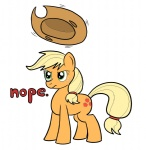 applejack artist_unknown nope parody team_fortress_2