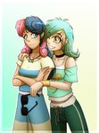 humanized inuhoshi-to-darkpen lyra_heartstrings lyrabon shipping sweetie_drops