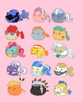 :3 blob carrot_cake chief_thunderhooves cup_cake diamond_tiara guard_pony hoity_toity little_strongheart mayor_mare nightmare_moon pekou prince_blueblood sapphire_shores silver_spoon snailsquirm snipsy_snap twist