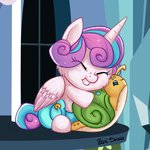 eepiart highres princess_flurry_heart snail whammy
