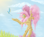 fluttershy fluttertree pooryorick species_swap tree