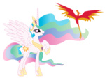 philomena princess_celestia the-proverbial-jon