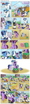 balloon brush comic filly highres hugs magic muffinshire original_character parents plushie shining_armor smarty_pants suitcase toy twilight's_dad twilight_sparkle twilight_velvet uniform young