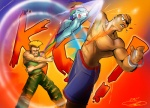 crossover guile noben rainbow_dash sagat street_fighter