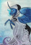 cloak highres princess_luna sagastuff94 spirit_of_hearth's_warming_yet_to_come traditional_art