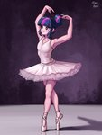 ballerina ballet dancing highres humanized tinybenz twilight_sparkle