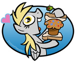 derpy_hooves itchymango muffin sandwich
