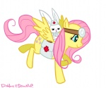 angel dishface fluttershy
