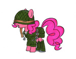 boots dog_tags helmet pinkie_pie renatamer uniform