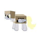 armor box bubble_wrap cardboard_box derpy_hooves galdorpunk mail not_that_kind_of_shipping