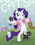 cat don-komandorr insanity pinkie_pie rarity twilight_sparkle